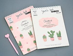 Скетчбук «Cactus & fresh»