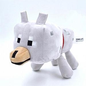 Мягкая игрушка «Волк из Minecraft»