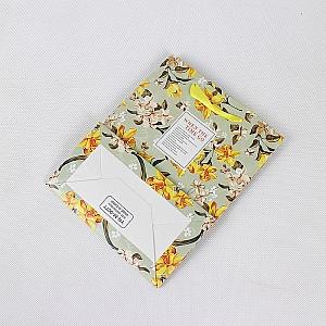 Подарочный пакет «Beautiful flowers» средний
