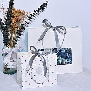 Подарочный пакет «White» маленький
