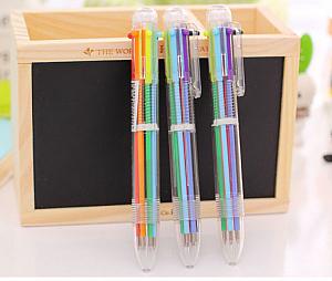 Ручка с шестью стержнями