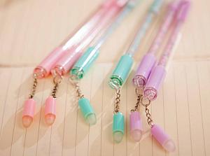 Ручка со стирающимися чернилами+стирашка