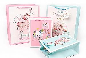 Подарочный пакет «Unicorn party» маленький