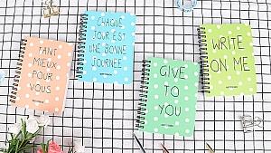 Блокнот «Write on me» маленький