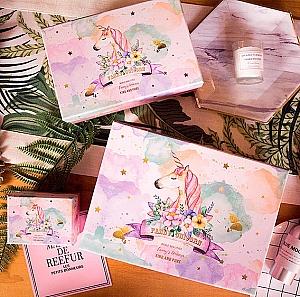 Подарочная коробка «Unicorn» средняя