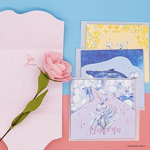Поздравительная открытка «Грезы»