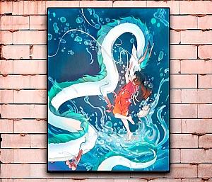 Постер «Мир Хаяо Миядзаки» большой