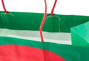 Подарочный пакет «Here comes Santa» большой