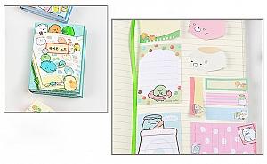 Мини-книжка со стикерами «Lovely bunny»