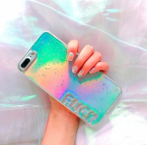 Чехол для iPhone «Glitter»