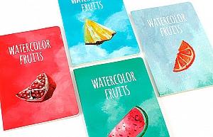 Тетрадь «Watercolor fruits»