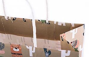 Подарочный пакет «Лама» средний
