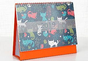 Календарь на 2019 год «Котики»