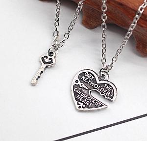 Парные кулоны «Ключ к твоему сердцу»