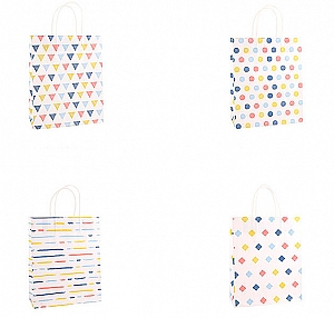 Подарочный пакет «Geometry» большой