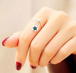 Кольцо «Star circle ring»