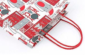 Подарочный пакет «Winter holidays» маленький