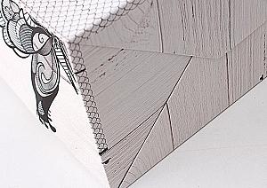 Подарочный пакет «Butterfly» средний