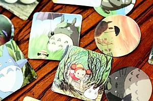 Набор наклеек «Totoro»