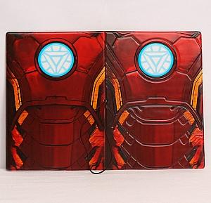 Обложка на паспорт «Iron man»