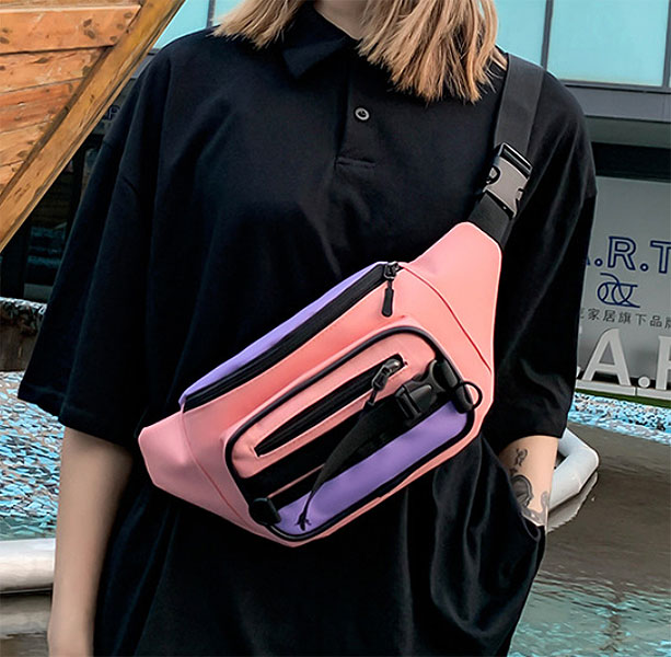 Поясная сумка «Bright color»