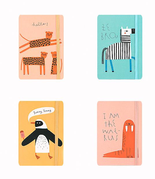Блокнот «Painted animals» большой