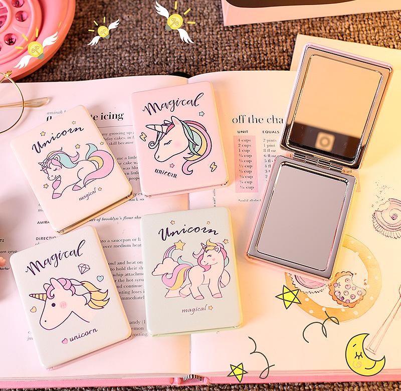 Складное зеркальце «Magical unicorn»