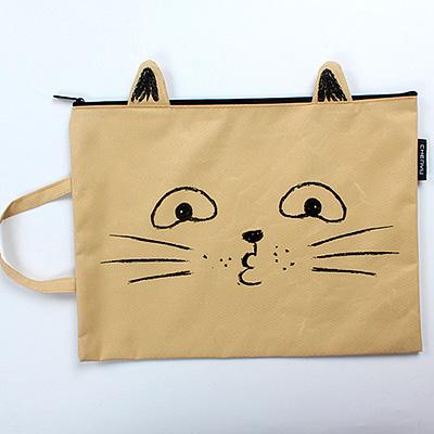 Сумочка для документов «Kitten face»