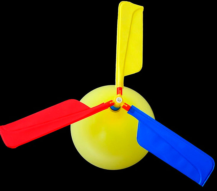 Воздушный шар-вертолет