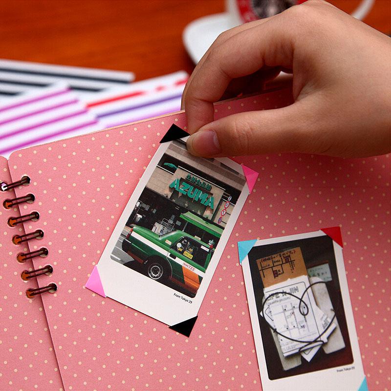 Наклейки-уголки для фотографий