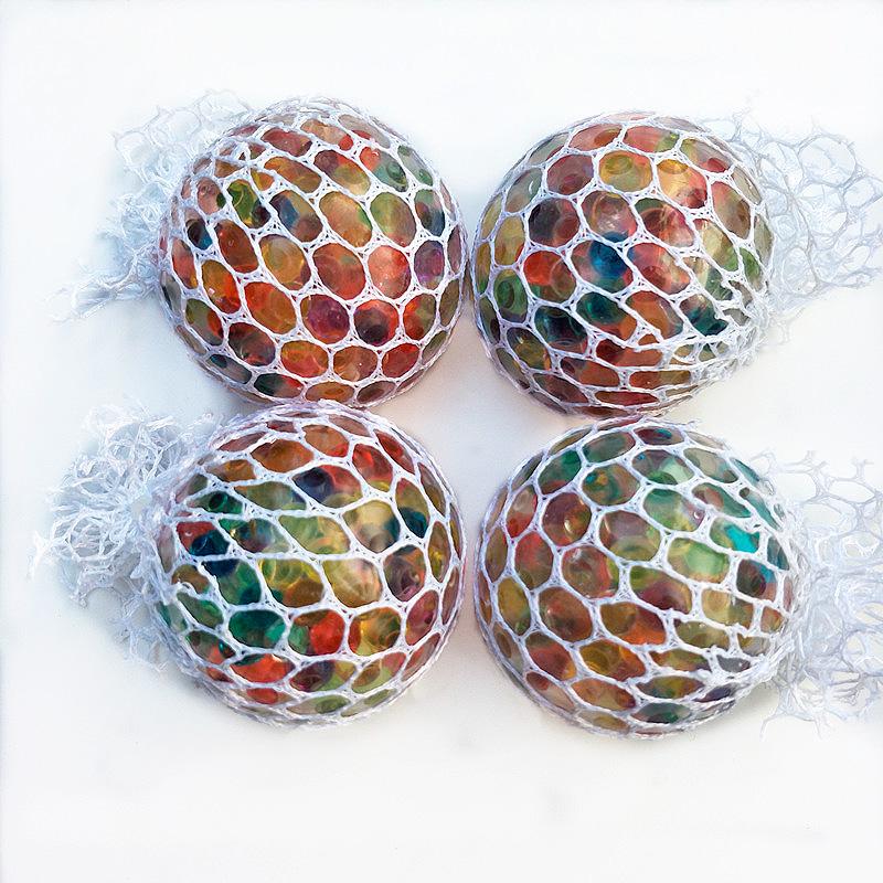 Мячик-антистресс с наполнителем орбис «Rainbow grapes»