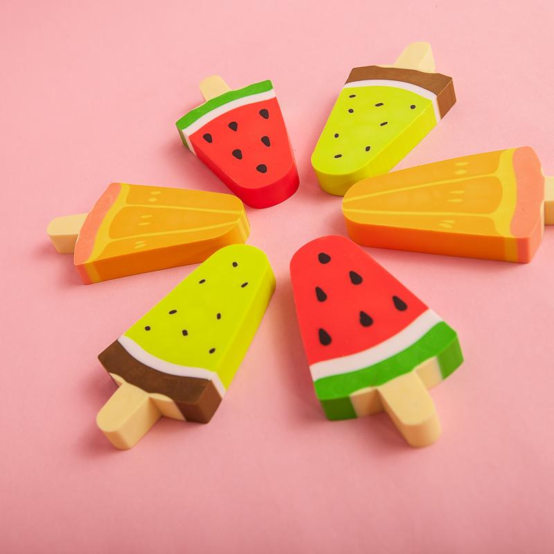 Стирательная резинка «Фруктовое мороженое»
