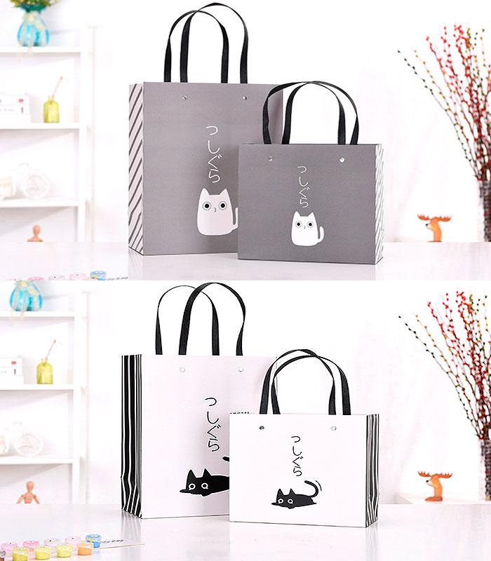 Подарочный пакет «One cat» маленький