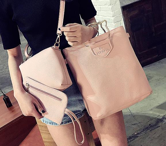 Две сумки и кошелек «Kitten»