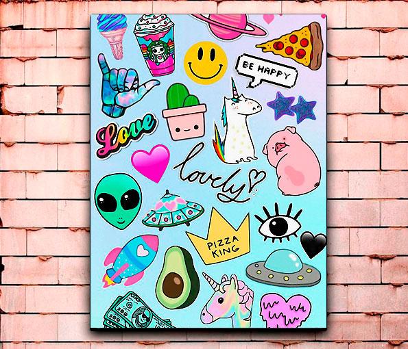 Постер «Lovely things» средний