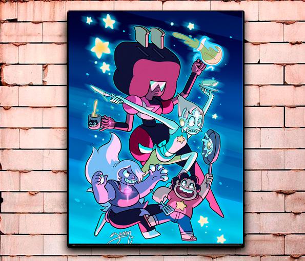 Постер «Мультсериалы» большой