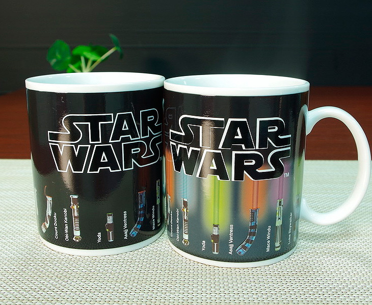 Кружка с терморисунком «Star Wars»