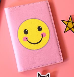 Обложка на паспорт «Emoji»