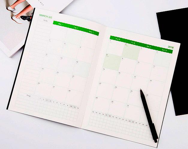 Блокнот-планинг «Monthly planner»