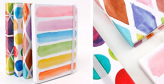 Блокнот «Геометрия в красках» средний