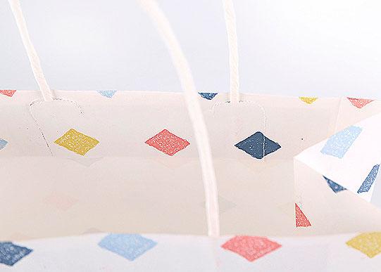 Подарочный пакет «Geometry» средний