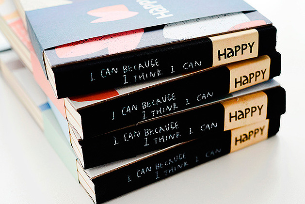 Блокнот «I can because i think i can»