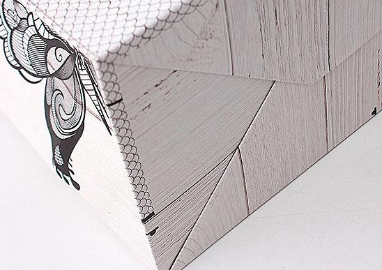 Подарочный пакет «Butterfly» большой