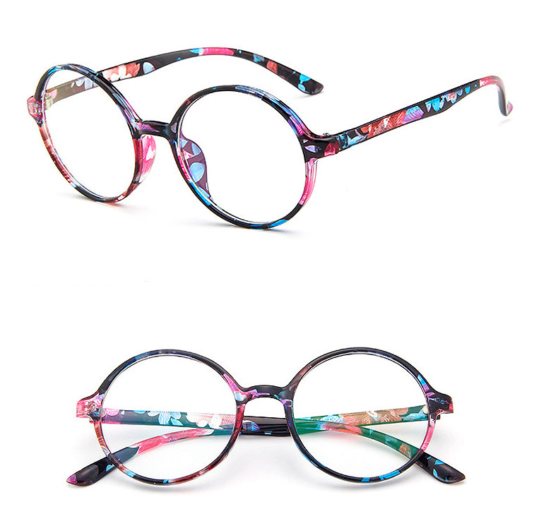 Круглые имиджевые очки